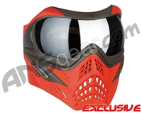 V-Force Grill Paintball Mask - Scarlet w/ Mirror Silver Lens