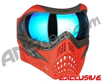 V-Force Grill Paintball Mask - Scarlet w/ Pulsar HDR Lens