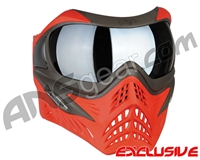 V-Force Grill Paintball Mask - Scarlet w/ Quicksilver HDR Lens