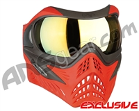 V-Force Grill Paintball Mask - Scarlet w/ Titan HDR Lens