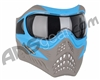 V-Force Grill Paintball Mask - SE Blue/Taupe