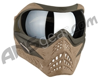 V-Force Grill Paintball Mask - SE Hextreme Sand w/ Mirror Silver Lens