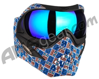 V-Force Grill Paintball Mask - SE Inca w/ Imperial HDR Lens