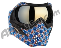 V-Force Grill Paintball Mask - SE Inca w/ Mirror Gold Lens