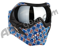V-Force Grill Paintball Mask - SE Inca w/ Mirror Silver Lens