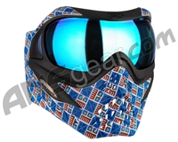 V-Force Grill Paintball Mask - SE Inca w/ Pulsar HDR Lens
