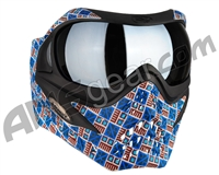 V-Force Grill Paintball Mask - SE Inca w/ Quicksilver HDR Lens