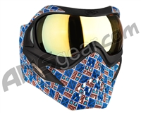 V-Force Grill Paintball Mask - SE Inca w/ Titan HDR Lens