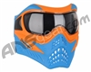 V-Force Grill Paintball Mask - SE Orange/Blue