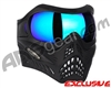 V-Force Grill Paintball Mask - Shadow w/ Imperial HDR Lens