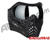 V-Force Grill Paintball Mask - Shadow w/ Mercury HDR Lens