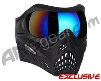 V-Force Grill Paintball Mask - Shadow w/ Mirror Blue Lens