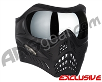V-Force Grill Paintball Mask - Shadow w/ Mirror Silver Lens