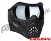 V-Force Grill Paintball Mask - Shadow w/ Quicksilver HDR Lens