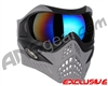V-Force Grill Paintball Mask - Shark w/ Mirror Blue Lens