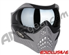 V-Force Grill Paintball Mask - Shark w/ Quicksilver HDR Lens