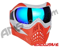 V-Force Grill Paintball Mask - SE Silver/Red w/ Imperial HDR Lens