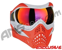 V-Force Grill Paintball Mask - SE Silver/Red w/ Metamorph HDR Lens