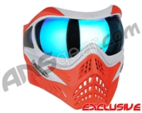 V-Force Grill Paintball Mask - SE Silver/Red w/ Pulsar HDR Lens