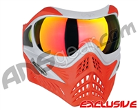 V-Force Grill Paintball Mask - SE Silver/Red w/ Supernova HDR Lens