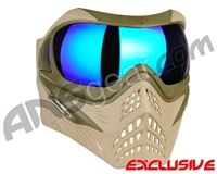 V-Force Grill Paintball Mask - Desert Tan (Swamp) w/ Imperial HDR Lens