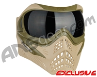V-Force Grill Paintball Mask - Desert Tan (Swamp) w/ Ninja Black Lens