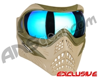 V-Force Grill Paintball Mask - Desert Tan (Swamp) w/ Pulsar HDR Lens