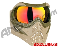 V-Force Grill Paintball Mask - Desert Tan (Swamp) w/ Supernova HDR Lens
