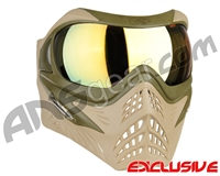 V-Force Grill Paintball Mask - Desert Tan (Swamp) w/ Titan HDR Lens
