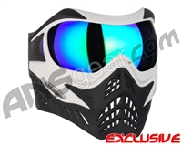 V-Force Grill Paintball Mask - White/Black w/ Kryptonite HDR Lens