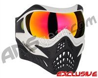 V-Force Grill Paintball Mask - White/Black w/ Magneto HDR Lens