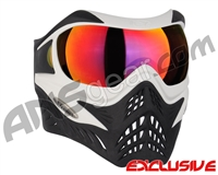 V-Force Grill Paintball Mask - White/Black w/ Metamorph HDR Lens