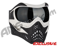 V-Force Grill Paintball Mask - White/Black w/ Ninja Black Lens