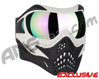 V-Force Grill Paintball Mask - White/Black w/ Phantom HDR Lens
