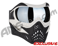 V-Force Grill Paintball Mask - White/Black w/ Quicksilver HDR Lens