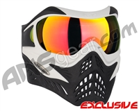 V-Force Grill Paintball Mask - White/Black w/ Supernova HDR Lens