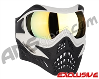 V-Force Grill Paintball Mask - White/Black w/ Titan HDR Lens