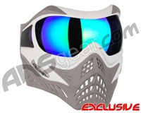V-Force Grill Paintball Mask - SE White/Taupe w/ Kryptonite HDR Lens