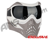 V-Force Grill Paintball Mask - SE White/Taupe w/ Ninja Black Lens