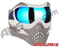 V-Force Grill Paintball Mask - SE White/Taupe w/ Pulsar HDR Lens