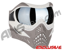 V-Force Grill Paintball Mask - SE White/Taupe w/ Quicksilver HDR Lens