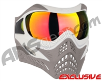 V-Force Grill Paintball Mask - SE White/Taupe w/ Supernova HDR Lens