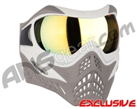 V-Force Grill Paintball Mask - SE White/Taupe w/ Titan HDR Lens