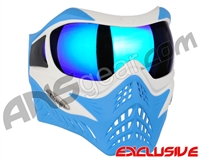 V-Force Grill Paintball Mask - SE White/Blue w/ Imperial HDR Lens