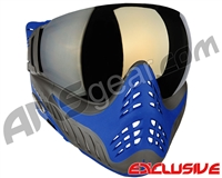 V-Force Profiler Paintball Mask - Azure w/ Mirror Gold Lens