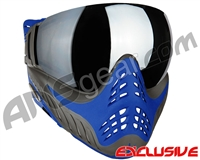 V-Force Profiler Paintball Mask - Azure w/ Mirror Silver Lens