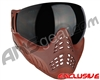 V-Force Profiler Paintball Mask - Clay w/ Ninja Black Lens
