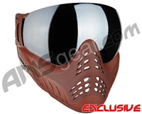 V-Force Profiler Paintball Mask - Clay w/ Quicksilver` Lens