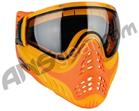 V-Force Profiler Paintball Mask - Yellow On Orange Referee