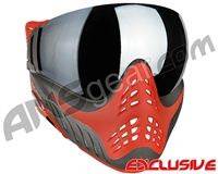 V-Force Profiler Paintball Mask - Scarlet w/ Mirror Silver Lens